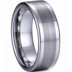 COI Titanium Pipe Cut Flat Ring-2692