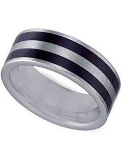 COI Tungsten Carbide Double Resin Pipe Cut Ring-TG4348