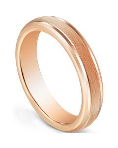 COI Rose Tungsten Carbide Step Edges Ring-5600