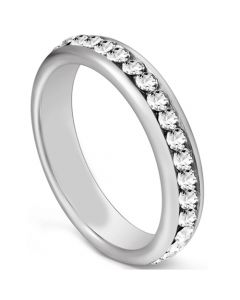 COI Tungsten Carbide Ring With Cubic Zirconia-5604