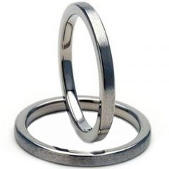 COI Tungsten Carbide Pipe Cut Flat Ring-TG2892