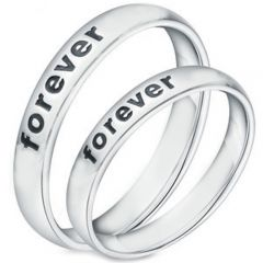 COI Tungsten Carbide Forever Dome Court Ring-TG5129