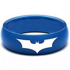COI Blue Titanium Batman Dome Court Ring-1433