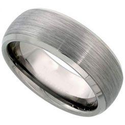 COI Titanium Beveled Edges Ring-2370