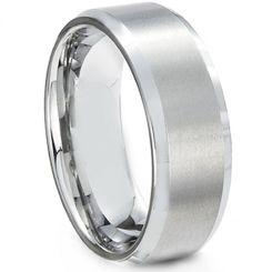 COI Titanium Beveled Edges Ring-2775