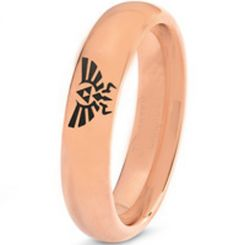 COI Rose Tungsten Carbide Legend of Zelda Ring-TG3274