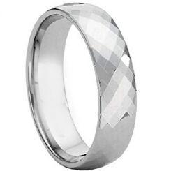 COI Titanium Faceted Ring-4108