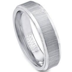 COI Tungsten Carbide Beveled Edges Ring-TG616
