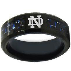 COI Black Titanium Ring With Custom Logo Engraving-1753