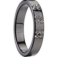COI Black Tungsten Carbide Ring-TG2042(US3)