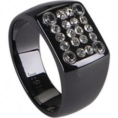 COI Black Tungsten Carbide Ring-TG2264(US10)
