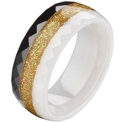 COI Ceramic Ring - TG2496(Size:US9.5)