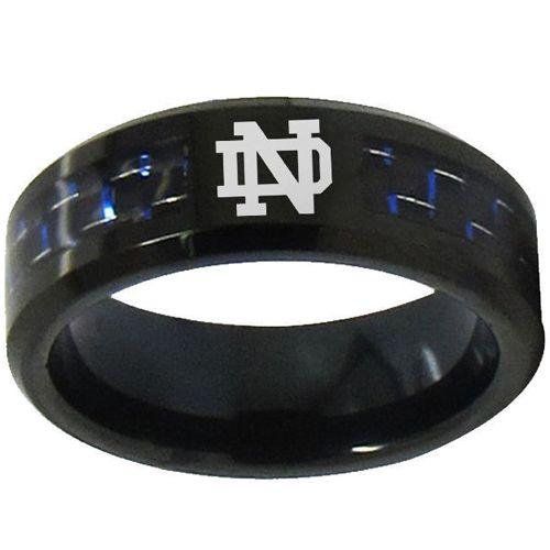 COI Tungsten Carbide Carbon Fiber Custom Engraving Ring-TG1753